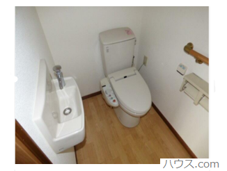 国分寺のトリミングサロン・ペットホテル向け物件のトイレ