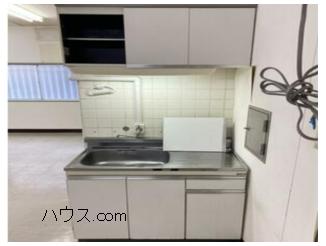 与野駅近動物病院向け賃貸店舗物キッチン画像