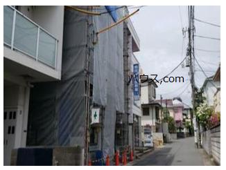 新築・鎌倉のトリミングサロン・ペットホテル向け賃貸店舗物件外観工事中画像