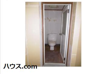 横浜市内のトリミングサロン向け賃貸店舗物件トイレ画像