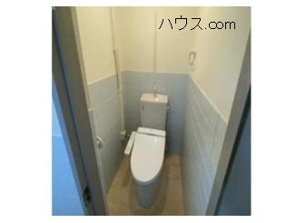 与野駅近動物病院向け賃貸店舗物トイレ画像