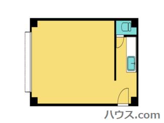 藤沢市のトリミングサロン・ホテル向け賃貸店舗物件間取り図画像