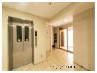 西小山のトリミングサロン賃貸店舗物件エレベーターホール画像