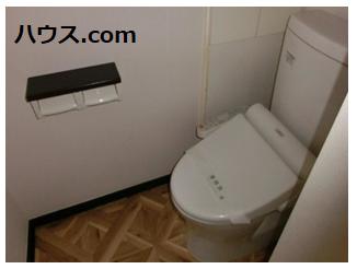 横浜関内のトリミングサロン・ペットホテル・動物病院向け賃貸店舗物件トイレ画像