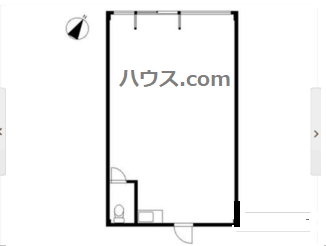 鎌倉トリミングサロン賃貸店舗物件間取り図画像
