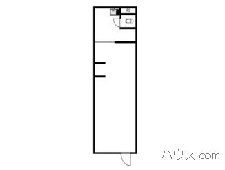 松戸市トリミングサロン賃貸店舗物件間取り図画像