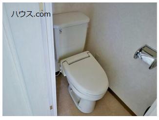 尾山台のトリミングサロン・ペットホテル向け賃貸店舗物件トイレ画像