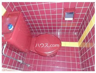 野方のトリミングサロン・ペットホテル向け賃貸店舗物件トイレ画像