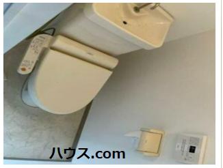 ひばりが丘のトリミングサロン・ペットホテル向け賃貸店舗物件トイレ画像