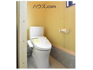 高根台のトリミングサロン・ペットホテル向け賃貸店舗物件トイレ画像