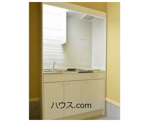 高根台のトリミングサロン・ペットホテル向け賃貸店舗物件キッチン画像