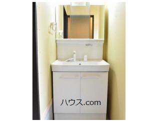 高根台のトリミングサロン・ペットホテル向け賃貸店舗物件洗面台画像