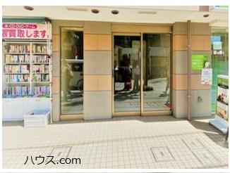 尾山台のトリミングサロン・ペットホテル向け賃貸店舗物件玄関画像