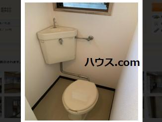 中野区内のペットサロン賃貸・ペットホテル・動物病院向け賃貸店舗物件トイレ画像