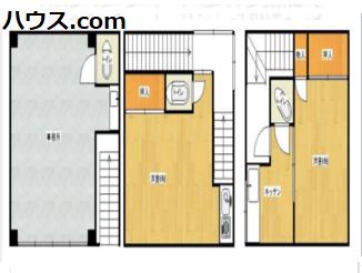 文京区本郷のペットサロン賃貸物件の間取り図画像